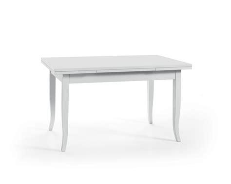 tavoli legno bianco tavolo in legno 140x80 allungabile colore bianco