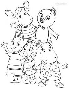 backyardigans coloring pages printable backyardigans coloring pages for cool2bkids