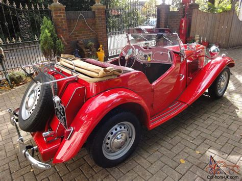 Driver Display 1951 by Mg Td 1951 The Best Nut
