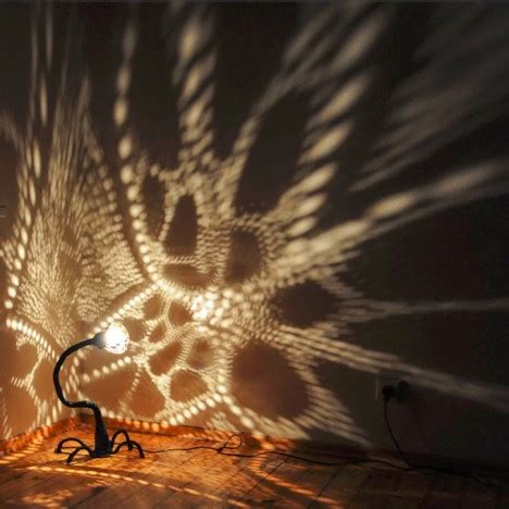 lights that cast patterns starry light hand crafted shell ls cast stellar