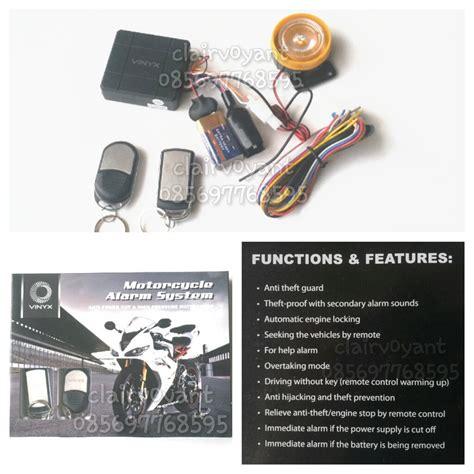 Alarm Motor Remote Starter Vinyx baru alarm motor remote starter bht agiva sinagawa