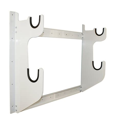 Front Rack Hold by Axle Rack Holds 1 Rear End And 1 Front Axle White Powder