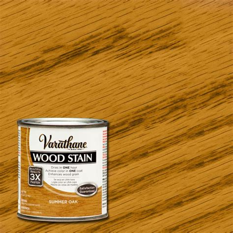 varathane 1 qt summer oak premium interior wood stain no
