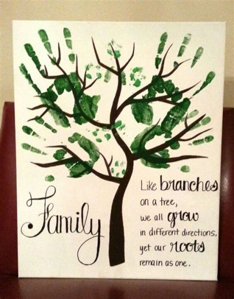 handprint tree craft 25 best ideas about family day on family