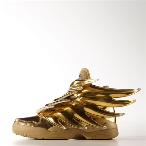 Gold Shoes by Adidas Wings 3 Gold Schuh Adidas Deutschland