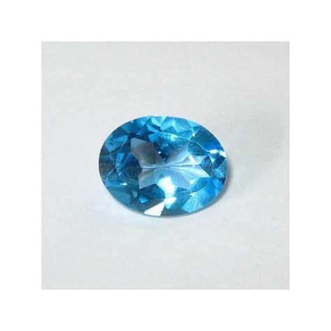 Batu Blue Topaz 4 50 Karat batu permata topaz real swiss blue kualitas bagus oval 2