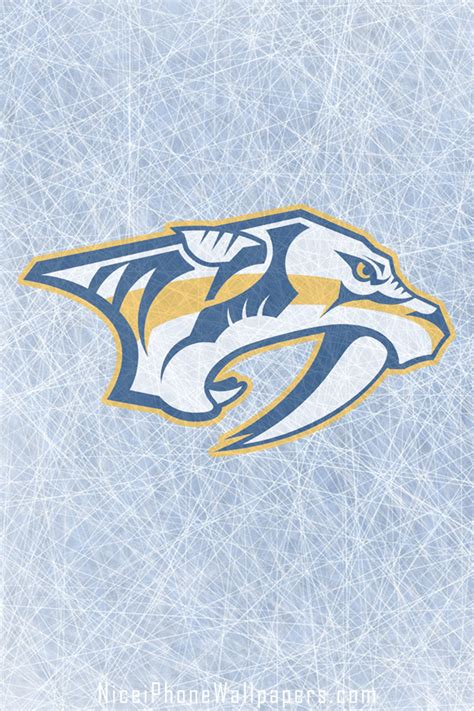 wallpaper iphone 6 nhl nashville predators iphone 4 4s wallpaper and background