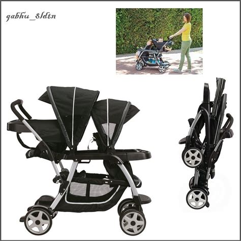 stroller with seat for toddler baby infant toddler stroller sit stand seat