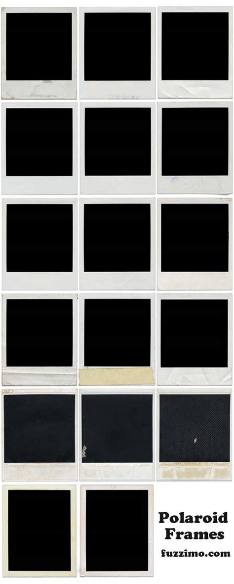 Free Hi Res Blank Polaroid Frames Fuzzimo Polaroid Frame Template