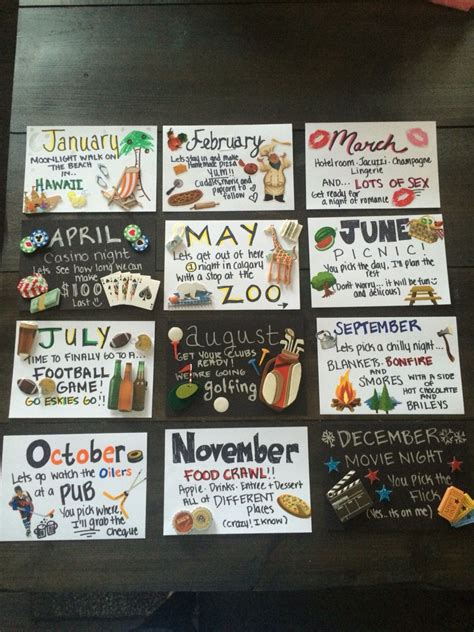 Months Of Dates Great For Anniversary Or  Ee  Birthday Ee    Ee  Gift Ee