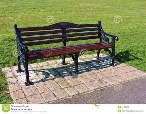garden sitting bench garden bench stock photo image 51793745