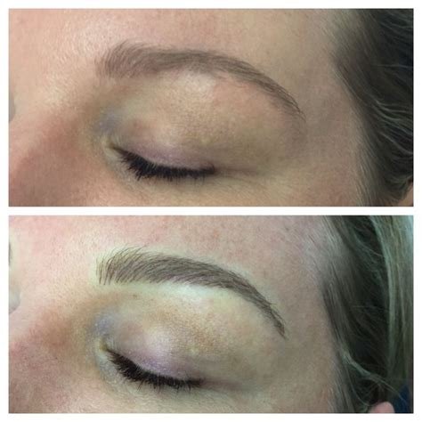 feather tattoo eyebrows uk the 25 best ideas about brow embroidery on pinterest
