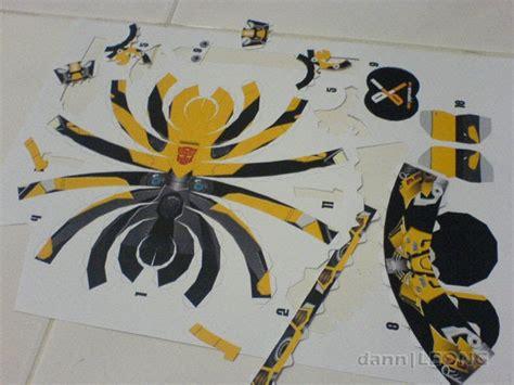 Bumblebee Papercraft - dann s journal paper craft transparkers bumblebee
