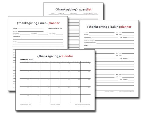 thanksgiving meal planner template thanksgiving menu ideas hoosier