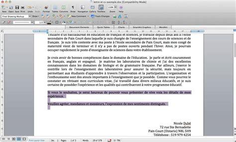 Exemple De Lettre Fictive Exemple Fictif Cv Et Lettre De Motivation