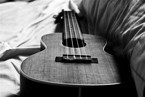 black and white ukulele black and white wallpaper desktop wallpaper wallpaperlepi