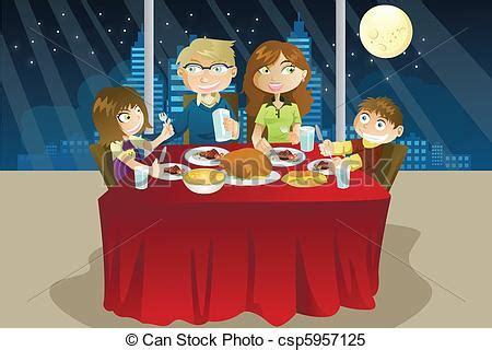clipart cena cena comida familia comida familia juntos cena