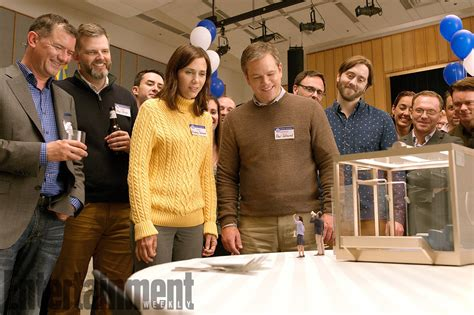 movies releasing this week downsizing by matt damon and christoph waltz downsizing image shows matt damon ready to get small collider