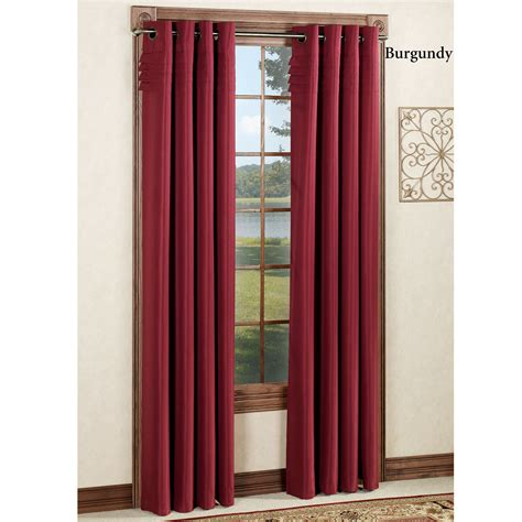 pleated curtain panels oxford pleat grommet curtain panels