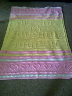 crochet pattern you are my sunshine you are my sunshine blanket fibers pinterest my