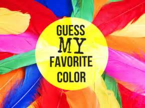 Favorite Colors Can We Guess Your Favorite Color Playbuzz