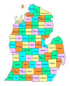County Map Of Michigan by Michigan Lower Peninsula County Trip Reports A K