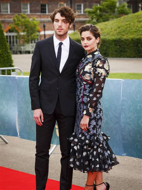 tom hughes news jenna coleman cosies up to victoria co star tom hughes in