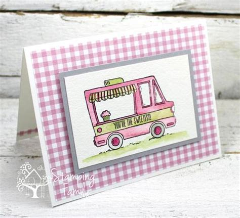 Sweet Handmade Cards - sweet handmade cards using a sting family color