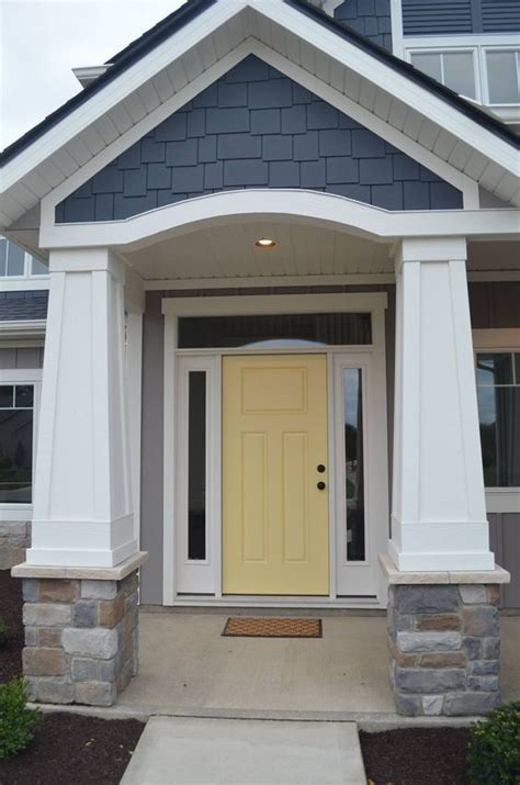 ben colors yellow and gray design with paint for the exterior of your