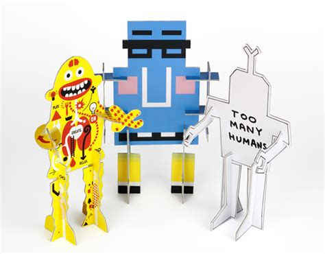 create your own robot make your own robot we lifestyle design magazine