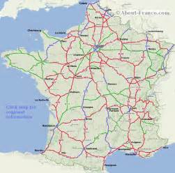map with highways road map of with motorways routes about