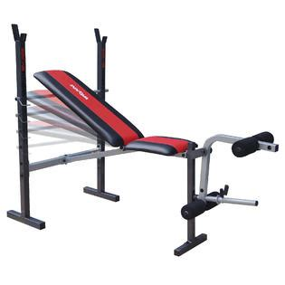 weight bench with bar innova fitness wbx200 deluxe adjustable weight bench with