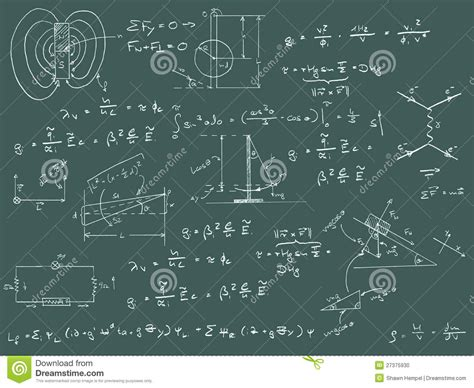 physics diagrams physics diagrams and formulas stock photo image 27375930