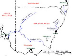 australia river map images