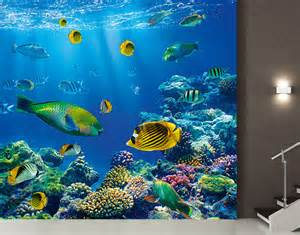 Underwater Wall Mural Photo Wall Mural Underwater World 300x280 Wallpaper Wall
