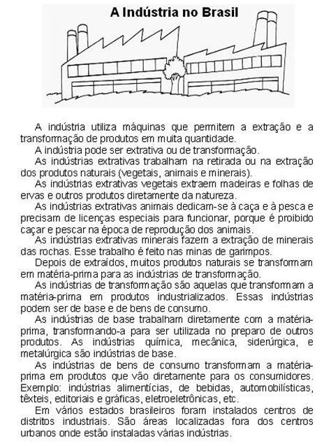 commercio e industria banco de atividades geografia a industria no brasil