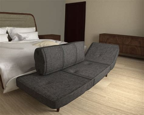 Model Sofa Bed Sofa Bed Free 3d Model Ready Max Cgtrader