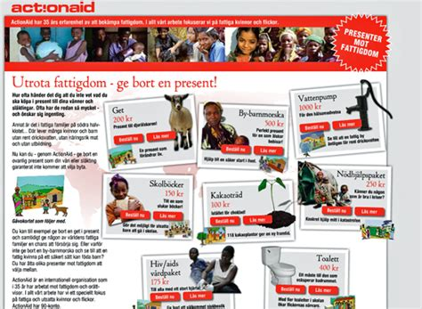 sofii 183 actionaid s christmas collection virtual gifts