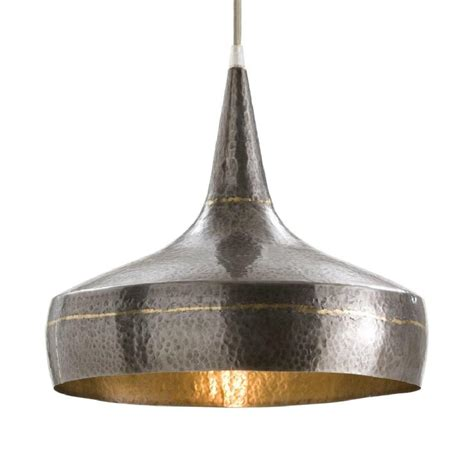 Kitchen Island Counter Stools by Arteriors Home 42414 Mason Wide Hammered Large Pendant