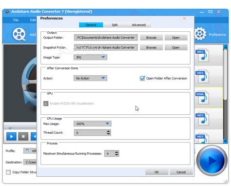 audio format converter linux avdshare audio converter download