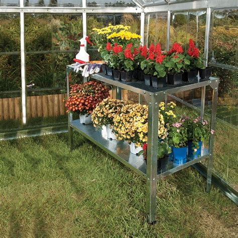 greenhouse benches uk greenhouse benches uk galvanised greenhouse staging bench