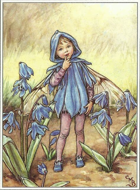 Flower Fairies Of The Garden Gurney Journey Barker S Flower Fairies