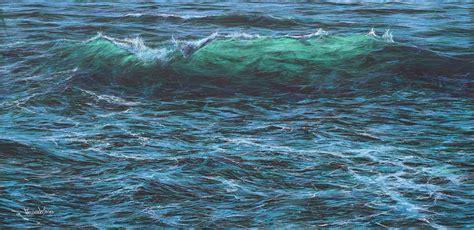 wave 50cm quot cresting wave quot 50cm x 100cm limited edition print 50 in
