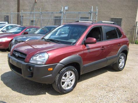 how cars run 2007 hyundai tucson free book repair manuals 2007 hyundai tucson gls 4dr 4x4 red 780cars wheels ca