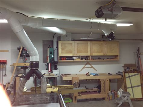 dust collection ducting for woodworking dust collection wood shop