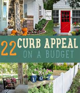curb appeal on a budget home decor ideas