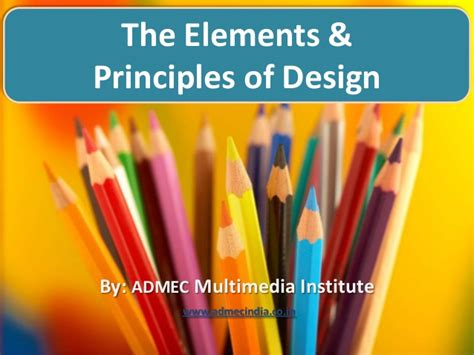 design elements ppt elements and principles of design