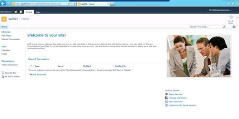 site collection template understanding sharepoint 2010 experience in sharepoint
