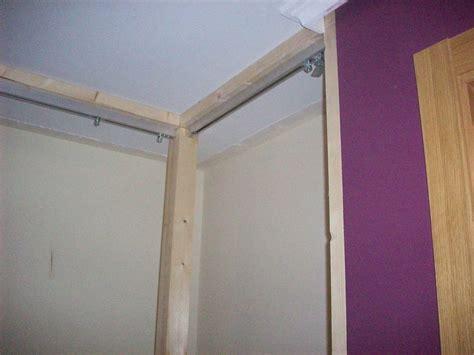 como hacer puertas de armario un armario empotrado paso a paso bricolaje