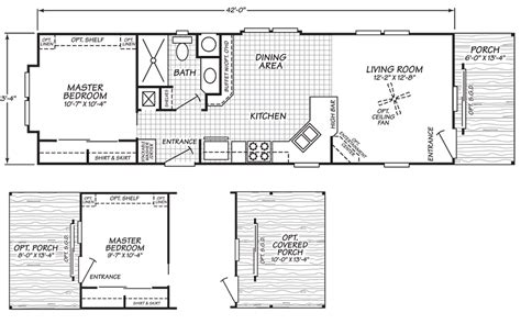 mobile home floor plans single wide chion single wide mobile home floor plans modern